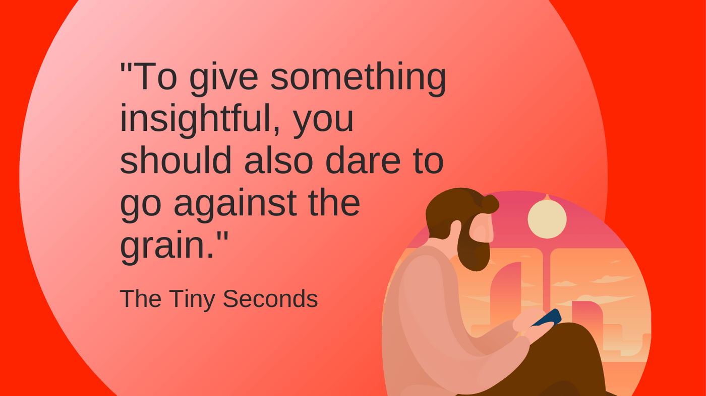 Write to make readers feel smart - Quote - The Tiny Seconds blog